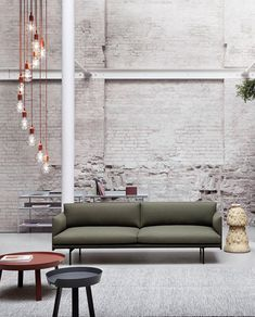Scandinavian sofa inspiration from Muuto: The Outline Series adds new perspectives to the classic Scandinavian design sofas of the marrying the ideals of simplicity and function into one.