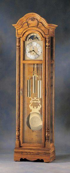 The relaxing tick tock of a grandfather clock Antique Grandfather Clock, Antique Clocks, Tick Tock Clock, Classic Clocks, Retro Clock, Father Time, Cool Clocks, Got Wood, Time Clock
