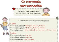 Greek Language, Special Education, Exercises, School, Greek, Exercise Routines, Excercise, Work Outs, Workout
