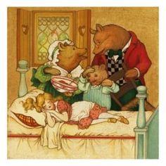 Goldilocks and the Three Bears - What happened when Goldilocks woke up?
