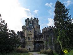 Castillo de Butrón Oak Forest, Magic Forest, Medieval Tower, Medieval Castle, Natural Park, The Province, 14th Century, Pilgrimage, Tower Bridge