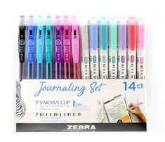 Bullet Journal Writing, Bullet Journal Ideas Pages, Bullet Journal Markers, Bullet Journal Materials, Pens For Bullet Journaling, Sarasa Pens, Bujo, Stationary School, Stationary Supplies