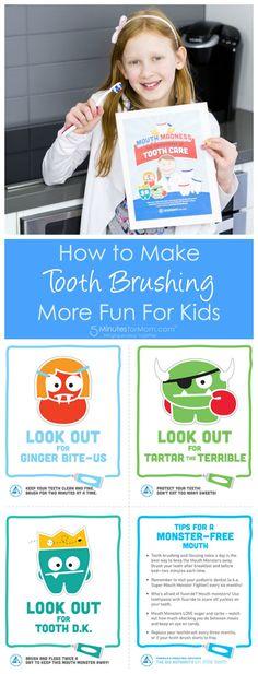 Printable Brushing Charts For