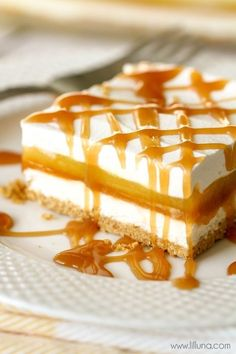 Caramel Creme Squares | Community Post: 15 Sweet And Sticky Caramel Desserts You Need To Eat ASAP