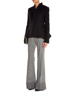 Tami asymmetric-hem boiled-wool jacket | Stella McCartney | MATCHESFASHION.COM UK