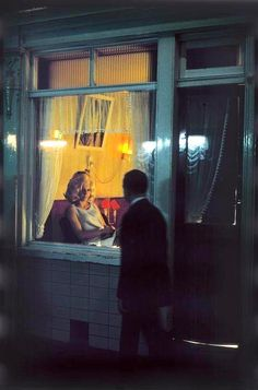 The Red Light District in Amsterdam, Netherlands, 1968
