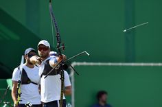 Day 1: Archery Men's Team - Jean-Charles Valladont of France