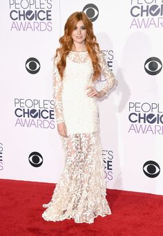 Katherine McNamara aux People's Choice Awards 2015