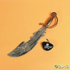 pirate swords with eyepatch
