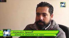 """Alejandro Spasoff: """"estamos muy contentos de relanzar el noticiero acá e..."""