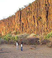 Hell's Gate National Park Cliffs