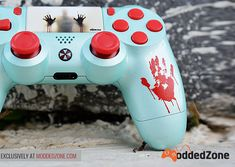 ModdedZone - Custom Modded Controllers for Xbox One, Xbox One Elite, and Nintedo Switch - ModdedZone Ps4 Controller Custom, Playstation, Xbox One S, Gaming Wallpapers, Nintendo Switch, Consoles, You Got This, Avengers, Games