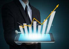 Growth chart on tablet technology. Business hand holding growth chart on tablet , Business Stock Photos, Online Trading, Career Education, Financial Markets, Trading Strategies, Good Company, Stock Market, Royalty Free Photos, Technology