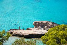 Cala Tarida - White Ibiza Ibiza Beach Club, Diving School, Who Goes There, Beach Volleyball, Lifeguard, Water Sports, Snorkeling, West Coast, Spain