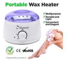 Wax Warmer Melting Pot Electric Hot Wax Heater for Facial Hair Removal Total Body Brazilian Waxing Salon or Self-waxing Portable Plug in Full Size Single Paraffin Can and All Types of Hair Removal Wax Electric Wax Warmer, Body Waxing, Wax Hair Removal, Look Good Feel Good, Wax Warmers, Total Body, Facial Hair, Melting Pot, How To Remove