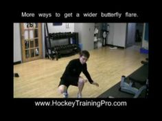 Off Ice Goalie Training:  More ways to get a wider butterfly