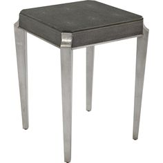 Safavieh Couture Collection Samaria Faux Dark Shagreen Side Table