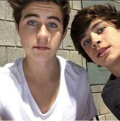 I have one Christmas wish and that is to meet these two fine guys and cameron dallas but we all know that it won't happen
