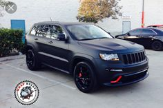 Matte Vinyl Wrap on Grand Cherokee