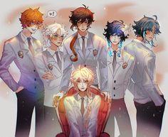 Manga Anime, Anime Art, Shounen Ai, Albedo, Art Reference Poses, Cute Anime Character, Haikyuu Anime, Animes Wallpapers, Anime Characters
