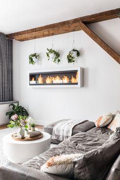 cozy, contemporary decor
