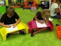 Life in First Grade: centers