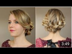 ❤ COAFURI SIMPLE DE FACUT ACASA , PENTRU SARBATORI ! ❤ Braided Chignon, Her Hair, Braids, Hat Patterns, Youtube, Hair Ideas, Tuto Coiffure, Hair Products, Makeup