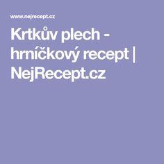Krtkův plech - hrníčkový recept | NejRecept.cz