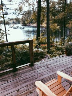 This is where I need to be. Cabin. Lake. Woods.