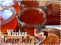 Delicious Whiskey Ginger Jelly Canning Recipe  Homesteading  - The Homestead Survival .Com