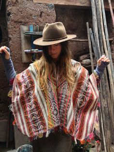 Personal Poncho / Textile Shopping in Peru  Your by LivingAltar, $20.00