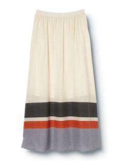c4105ce4da9e9 QSW Deck Stripe Maxi Skirt - Quiksilver Striped Maxi Skirts