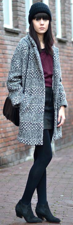 coat   skirt