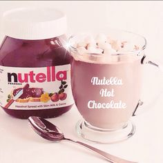 Nutella Hot Chocolate ❤️