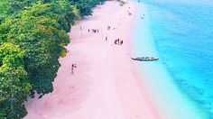This Pink Beach in the Philippines Has Been Named As One of the Best Beaches in the World