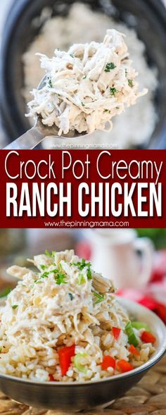 My Husband's Favorite! The BEST Crockpot Ranch Chicken recipe! This is such and easy and delicious dinner idea! My Husband's Favorite! The BEST Crockpot Ranch Chicken recipe! This is such and easy and delicious dinner idea! Buffalo Chicken, Nachos, Slow Cooker Recipes, Crockpot Recipes, Healthy Recipes, Casserole Recipes, Healthy Meals, Vegetarian Recipes, Roast Beef Sliders