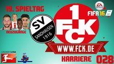 "LET'S PLAY FIFA 16 TRAINERKARRIERE #028 ""FCK vs SANDHAUSEN"" [XBOX One Ga..."