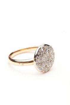 Pomellato Sabbia White Diamond Ring by Pomellato  from Amanda Pinson Jewelry