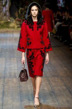 Défile Dolce Gabbana prêt-à-porter automne-hiver 2014-2015