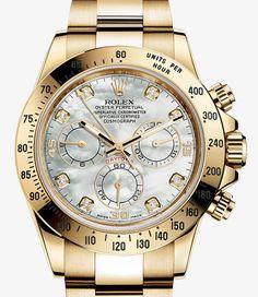 Rolex Cosmograph Daytona Watch: 18 ct yellow gold - 116528