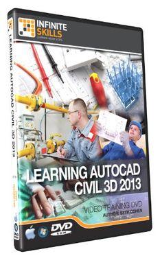 Learning AutoCAD Civil 3D - Training DVD - Video - http://www.cheaptohome.co.uk/learning-autocad-civil-3d-training-dvd-video/
