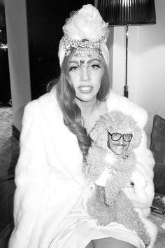 Lady Gaga, I wanna be your dog. Yours, Terry Richardson