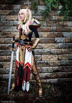 Cosplay Paladin World Of Warcraft