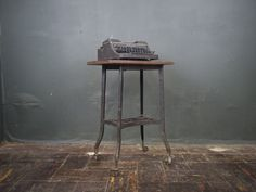 Industrial Toledo Table by sevenbc on Etsy, $165.00