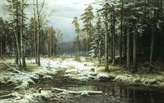Ivan Shishkin - The First Snow