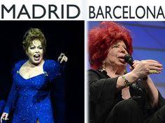Señoras con vozarrón nacidas en Madrid vs Barcelona | ¿Capitales de España?