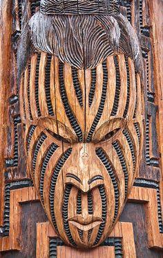 Maori Art, Wood Carving, Rotorua, New Zealand by stephanieetstephane, Arte Tribal, Tribal Art, Abstract Sculpture, Wood Sculpture, Bronze Sculpture, Polynesian Art, Polynesian Culture, Maori People, Maori Designs