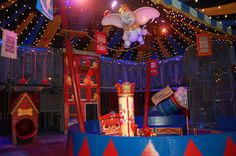 First-Ever Queue Lounge Coming to Dumbo The Flying Elephant at New Fantasyland