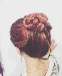 Rose gold, organic Balayage! So pretty. Hair by organic hair stylist Emily. …