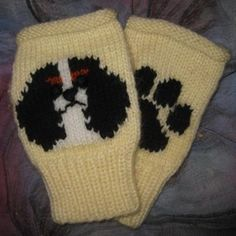 Clothing  Handmade, personally knit, UNIQUE fingerless mittens! Worldwide shipping.